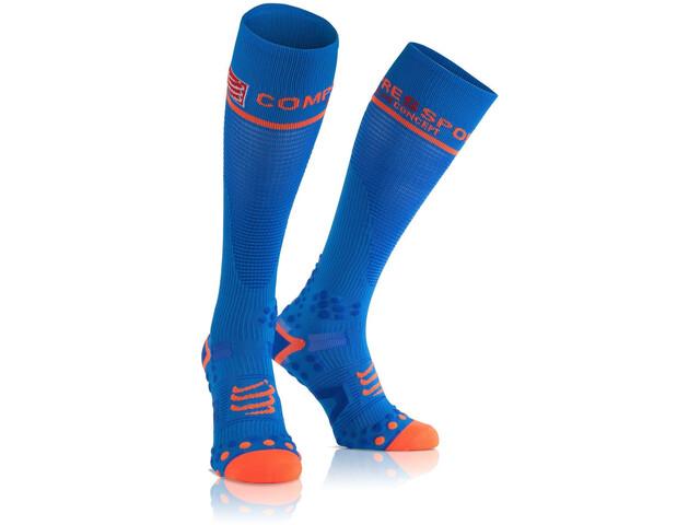 43278e5f03c Compressport Full Socks V2.1 Hardloopsokken blauw l Outdoor winkel ...
